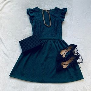 Xhilaration Hunter Green Dress